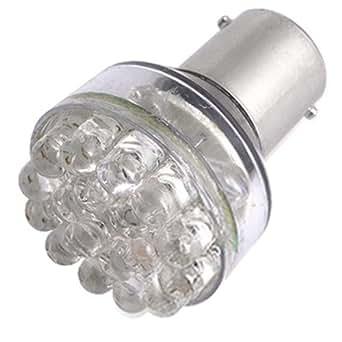2x t25 ba15s lampe ampoule 24 led rouge pour voiture. Black Bedroom Furniture Sets. Home Design Ideas