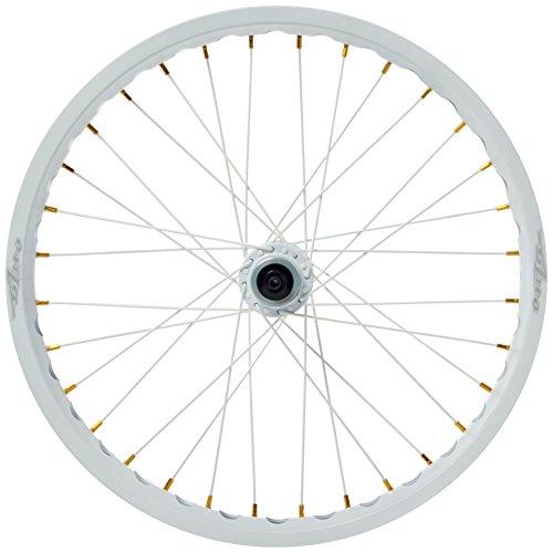ONZA, Set di cerchioni per ruote bicicletta, Bianco (Blanc - blanc), 20/19