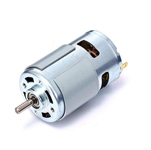 High Power 12V-24V DC Motor 775Große Drehmoment Kugellager Werkzeug Low Noise -
