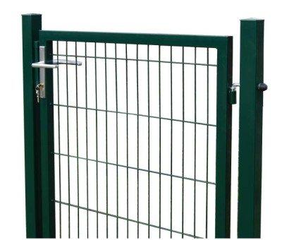 Gartentor, Zaun, Camas, 1030x1000mm inkl. Pfosten RAL 6005/grün