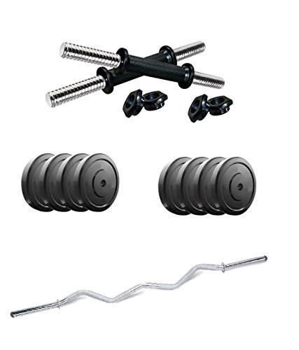 Aurion-20-kg-home-gym-Set-with-3ft-curl-and-AND-14-INCH-DUMBBELL-SET-FOR-FITNESS