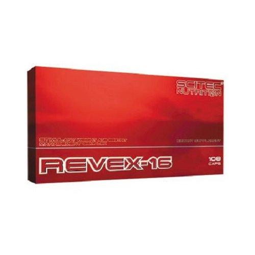 Scitec Nutrition Fat Burner Revex-16, 108 Kapseln, 1er Pack (1 x 90,7g)