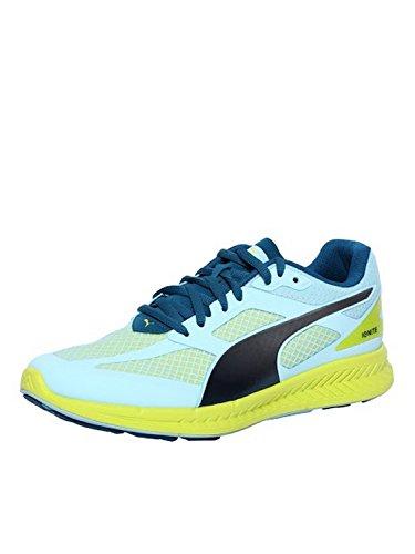 Puma IGNITE Mesh Wn's, Chaussures de course femme Bleu - Blau (clearwater-poseidon-sulphur spring 02)
