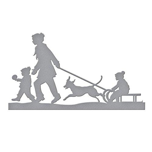 Spellbinders Rodeln Shapeabilities sterben, braun (Ziehen Schlitten Für Kinder)