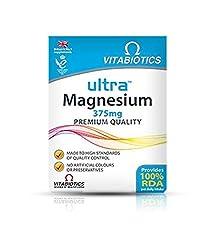 (2 Pack) - Vitabiotics Ultra Magnesium Tablets   60s   2 Pack - Super Saver - Save Money