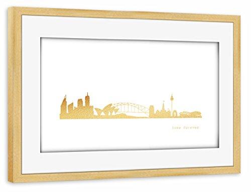 artboxone-poster-mit-rahmen-60x40-cm-stadte-stadte-sydney-reise-architektur-sydney-gold-print-love-g