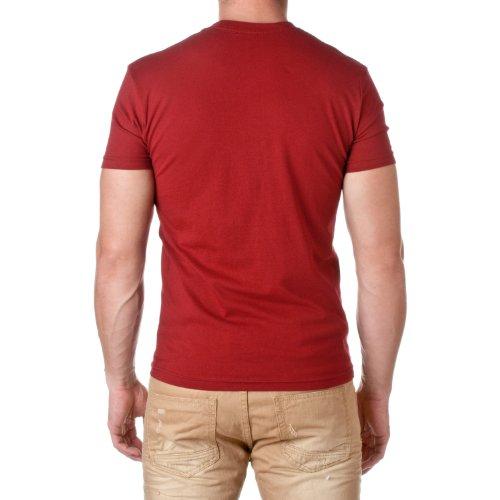 Next Level -  T-shirt - Uomo Cardinale