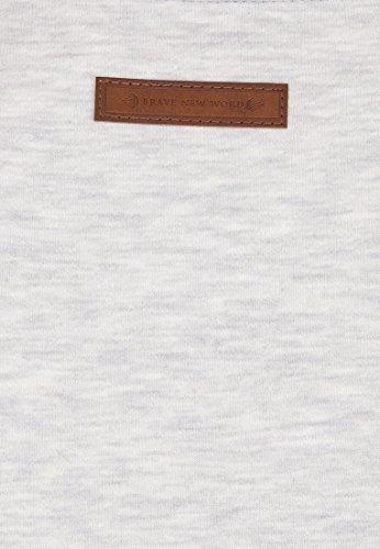 Naketano Male Hoody Schwanzus Longus V Amazing grey melange