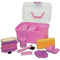 Kinder Putzbox mit 6 - teiligem Inhalt rosa