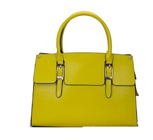 Borse PACK Borse Da Scavo Borse Da Cerimonia Da Mensola Singola Zipper Borse Messenger Bag,A:White B:Yellow
