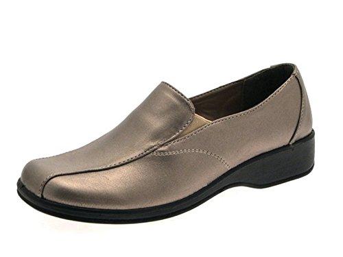 Dr Lightfoot , sandales femme Argent - Pewter