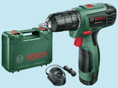 Bosch Bricolaje - 06039A2103 - Psr Easy Li-2 (10,8V)Atornillador Con Batería De...