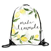 ShixiaoCC Drawstring Backpack Bag Make A Bee Friendly Garden Rucksack For Travel
