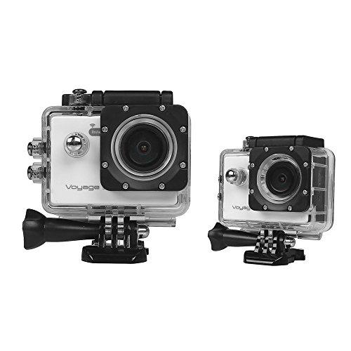 Instabox Voyage SV5000 WiFi Allwinner V3 1080P 60FPS WiFi Built-in 2.0 '' LCD 16MP 170 Large Angle Caméra d'Action Sport Action Cam HD Camcorder Extérieure pour La Plongée Véhicule, Blanc