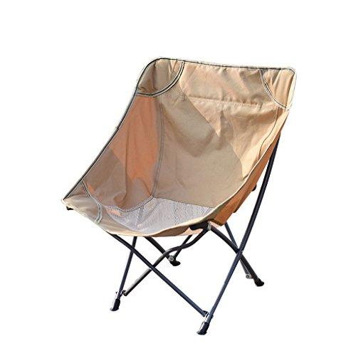 Mutang Park Campingstuhl Faltstuhl Haushalt Leichter Klappstuhl Tragbarer Stuhl Strandstuhl Angelstuhl Student Art Stuhl Skizzierstuhl Gelb