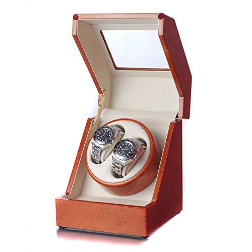 Raoul U.Braun Uhrenbeweger Delta für 2 Uhren Walnussholz - 2