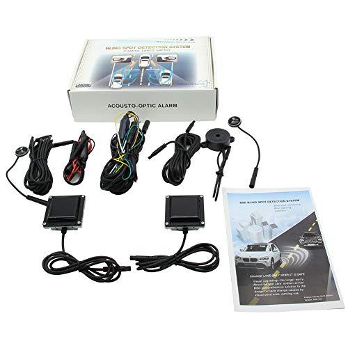 Unityoung Auto Blind Spot Detektion Sensor Sicherheits-Alert System Universal Warnung Langdistanz