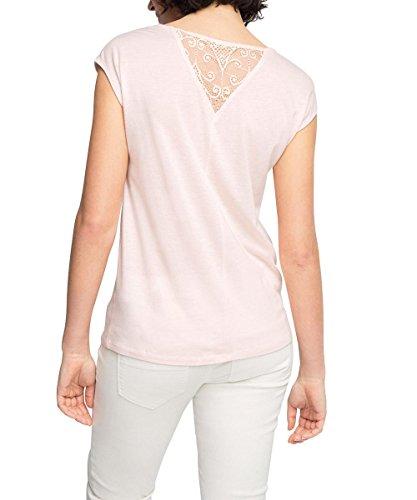Esprit 036eo1k018 - Loose Fit - T-shirt - Femme Rose - Rosa (PASTEL PINK 695)