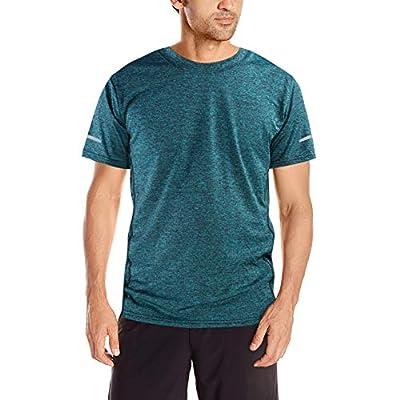 NGOZI Mens T Shirts Muscle Gym Wear Men Compression Tops for Men Running Tops Short Sleeve Shirt Mens