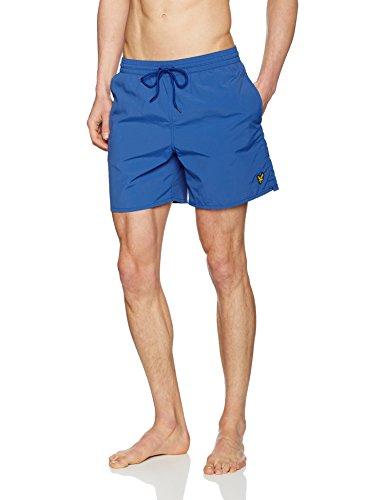 lyle-scott-plain-swim-short-homme-blue-true-blue-l