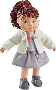 HABA 304888 - Muñeca Clea, muñeca Suave con Cabeza y extremidades de Vinilo, 32 cm, Juguetes a Partir de 3 años