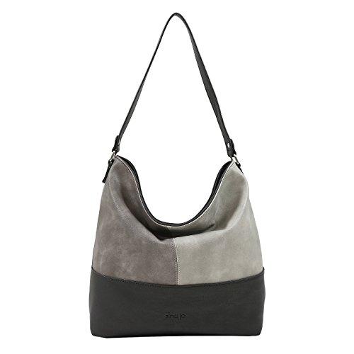 sina-jo-hobo-beuteltasche-shopper-525-in-verschiedenen-farben-black-grey