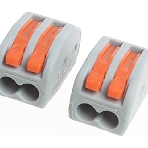 DNGY* Universal s 2 Loch Kabel Stecker(2pcs)