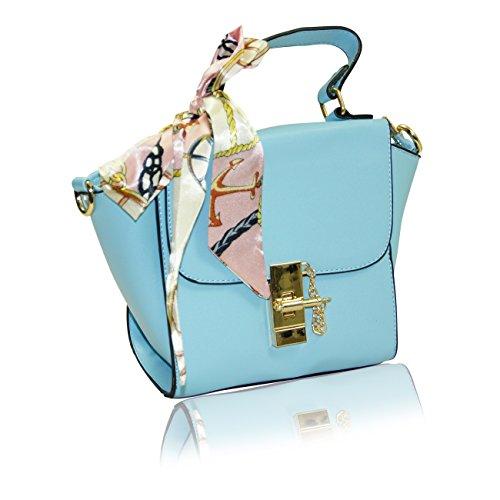 Handbag Krazy, Borsa a tracolla donna Sky Blue