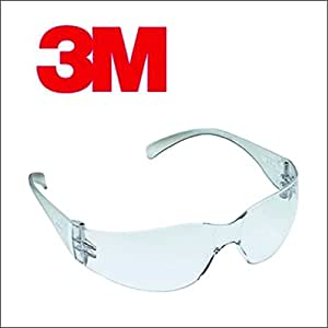 3M Virtua IN Hard Coated Bike Riding Safety Goggle (Clear)