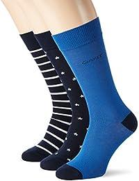 Gant O. 3-Pack Stars & Stripes Socks, Chaussettes Homme