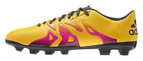 adidas X 15.3 Hg Herren Fußballschuhe Orange (Solar Gold/Core Black/Shock Pink)