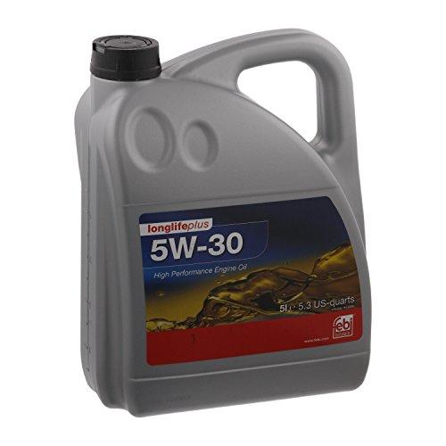 febi bilstein 32947 Motoröl SAE 5W-30 longlifeplus (5 Liter)