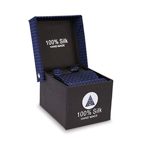 LANSILK Men Business Silk Tie - Caja corbata seda