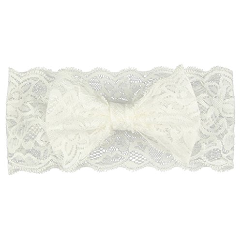Imported 5pcs Gilrs Lace Hairband Headband Baby Headwrap Knotted Bowknot Hair...-55003271MG
