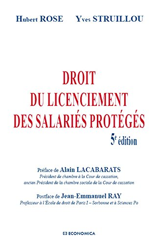 Droit du licenciement des salaris protgs, 5e d.
