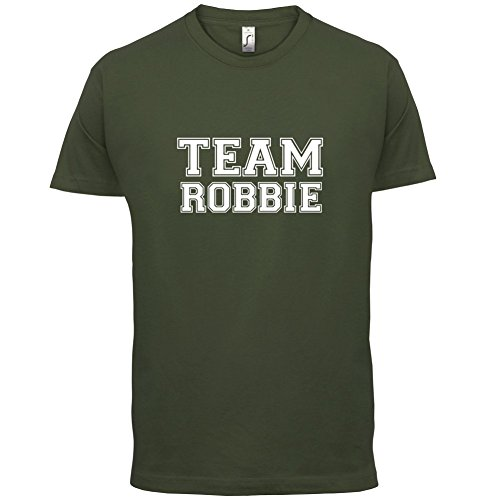 Team Robbie - Herren T-Shirt - 13 Farben Olivgrün