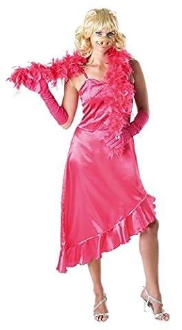 Damen-Kostüm Miss Piggy TM - M (Pig Nose Kostüm)