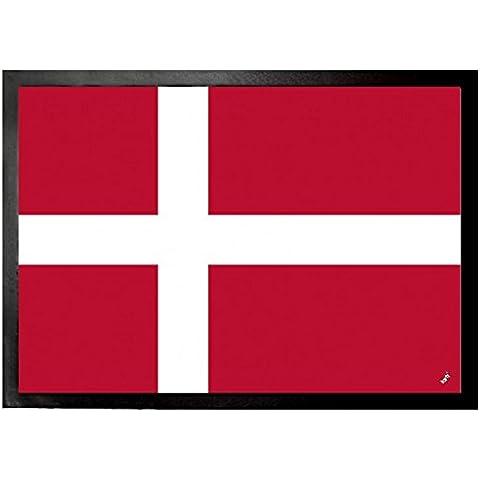 Danimarca - Bandiere Del Mondo Zerbino (70 x 50cm)