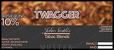 Twisted Aroma John Smith Blended Tobacco Flavor Twagger von Twisted Vaping