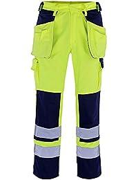 "Mascot Handwerkerhose ""Almas"", 1 Stück, L82cm/C49, gelb/marineblau, 09131-470-171-82C49"
