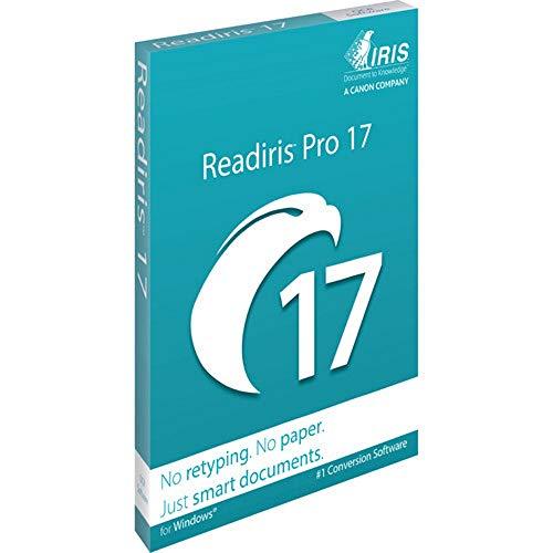 Readiris Pro 17 OCR, PDF und Dokumentenmanagement-Software für Windows DVD