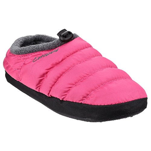 Cotswold Mujer Ponerse Otros Materiales Camping Pantuflas Rosa S