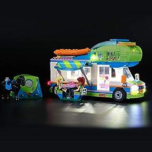 LIGHTAILING Set di Luci per (Friends Il Camper Van di Mia) Modello da Costruire - Kit Luce LED Compatibile con Lego… 0716852281442 LEGO