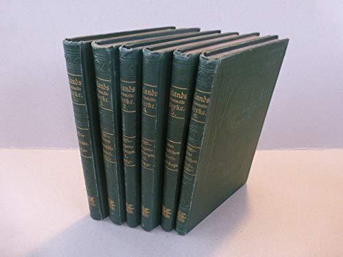 Uhlands gesammelte Werke in sechs Bänden. (6 Bände komplett)