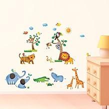 Wandtattoo kinderzimmer  Suchergebnis auf Amazon.de für: wandtattoo kinderzimmer tiere