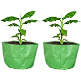 "COIR GARDEN Terrace Gardening HDPE Grow Bags Bigger Sizes for Banana, Papaya Plants, Big Plants, 250 GSM (24""x24"" inches…"