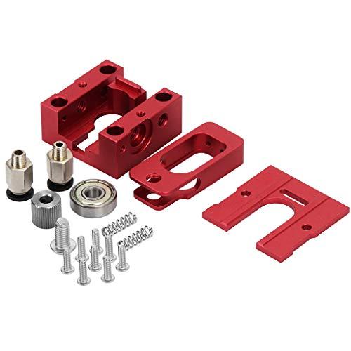 D DOLITY Motor Extruder Teile Set Aluminiumlegierung Extrusion Rad Universal 3D-Drucker Zubehörteile für 1,75mm