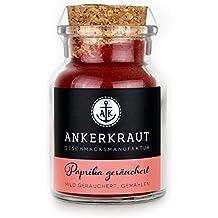 Ankerkraut Paprika geräuchert - das Rauch Gewürz zum Grillen und Kochen, 80gr im Korkenglas