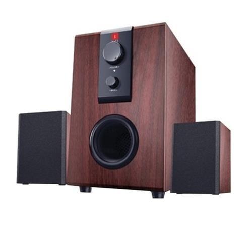 iBall Raaga 2.1 Q9 Full Wood Speaker System (Rosewood Color)