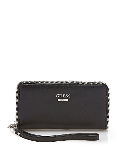 GUESS SOFIE SLG ZIP AROUND WALLET VG641360 BLACK